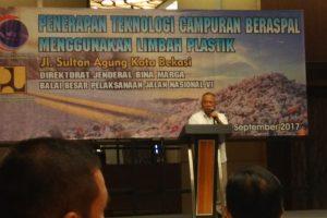 Penerapan teknologi campuran beraspal menggunakan limbah plastik 1