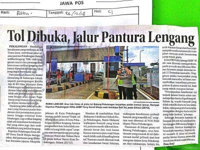 Tol_Dibuka_Jalur_Pantura_Lengang