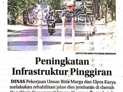 peningkatan infrastruktur pinggiran